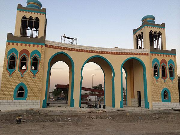 نمونه کار رنگ کنیتکس عراق